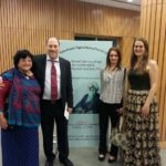 From left: Dr. Yvette Rosser, Mr. Peter Bundalo, Ms. Simona Ivanda and Ms. Freja Sandkamm