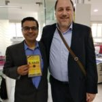 Mr. Rajdeep Mukherjee, Managing Director Panmacmillan India with Mr. Peter Bundalo, TagorePrize Founder – February 6th, 2019.