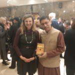 Ms. Vjerna Nevistic, TagorePrize Board of Directors with H.E. Arindam Bagchi, Ambassador of India to Croatia – February 25th, 2019.
