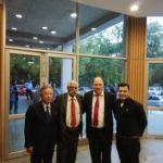 Ambassador of Taiwan to India, Chung-Kwang Tien, Maj Gen G.D Bakshi, Peter Bundalo, Founder of TagorePrize, Aditya Bakshi