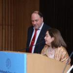 Neera Misra, Draupadi Trust Founder and Peter Bundalo, TagorePrize Founder