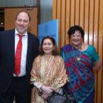 Peter Bundalo, TagorePrize Founder, Neera Misra, Draupadi Trust Founder, Yvette Rosser aka Ram Rani, American scholar and TagorePrize Advisory Board