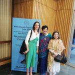 Simona Ivanda, Maitreya Publishing Foundation President, Yvette Rosser aka Ram Rani, American Schollar and TagorePrize Advisory Board, Meera Misra, Draupadi Trust Founder